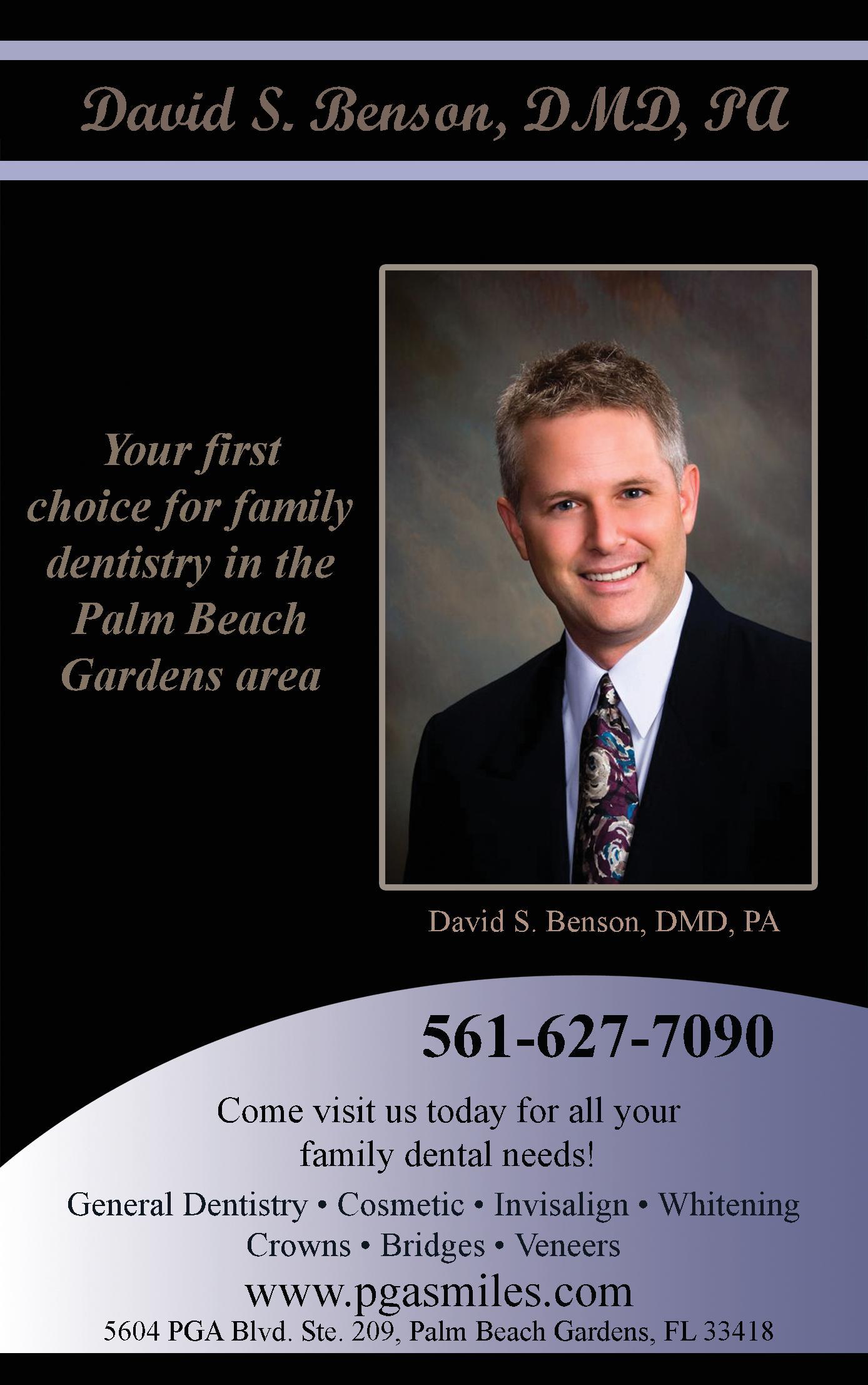 David S. Benson, DMD, PA