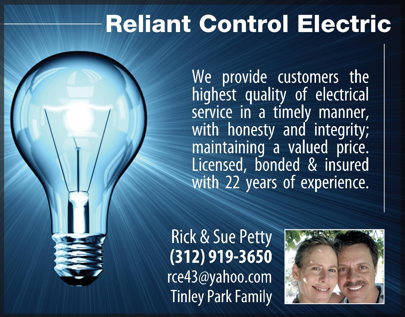 Reliant Control Electric
