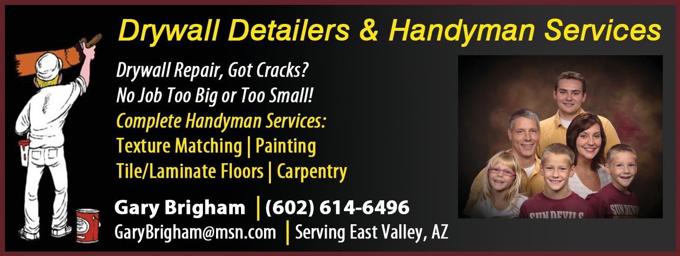 Drywall Detailers & Handyman Services