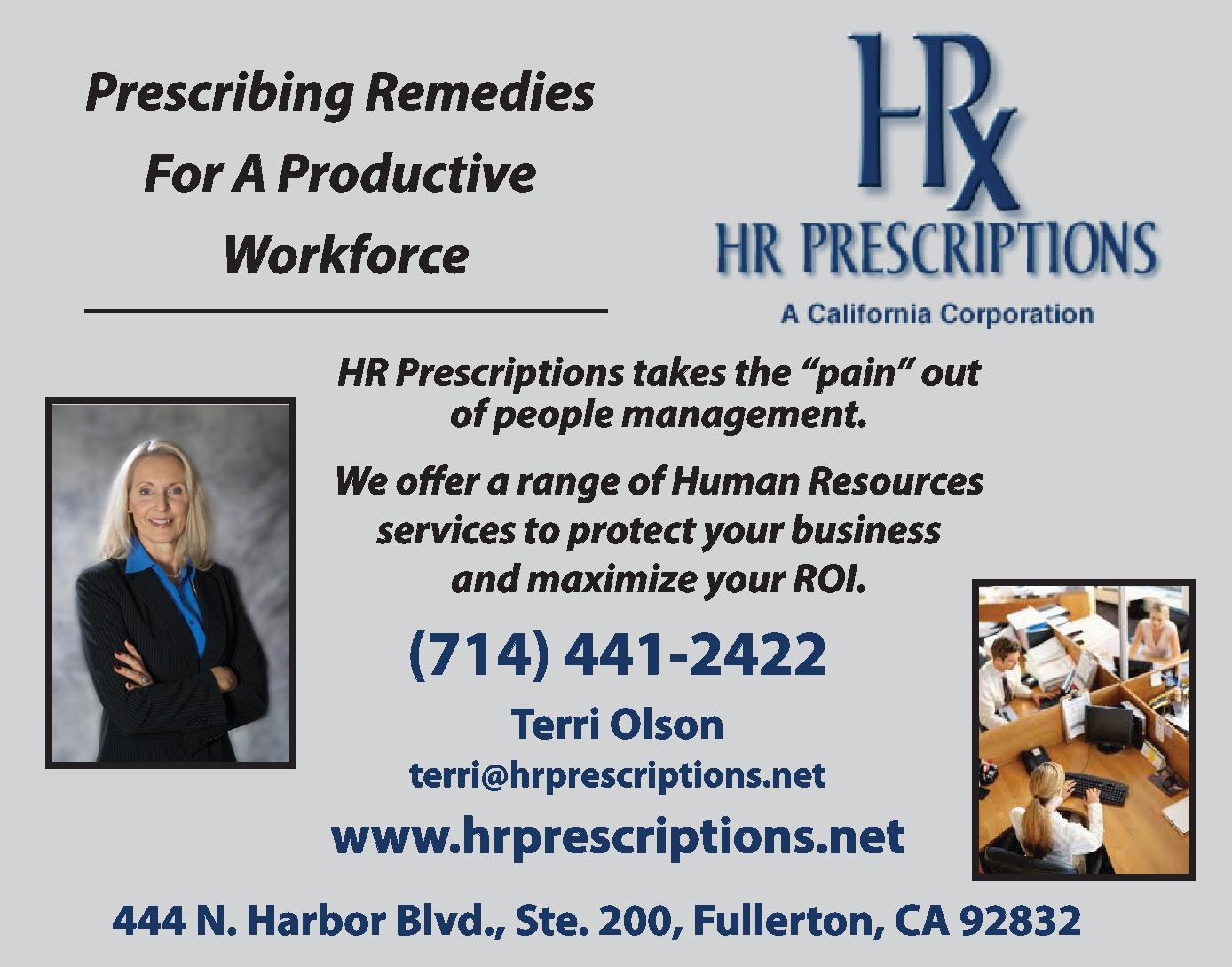 HR Prescriptions