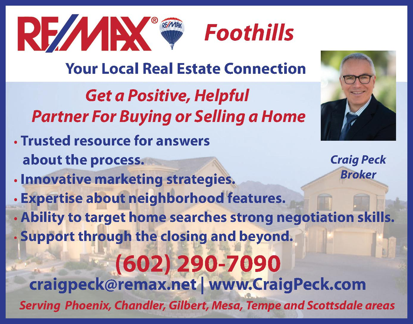 RE/MAX Foothills - Peck