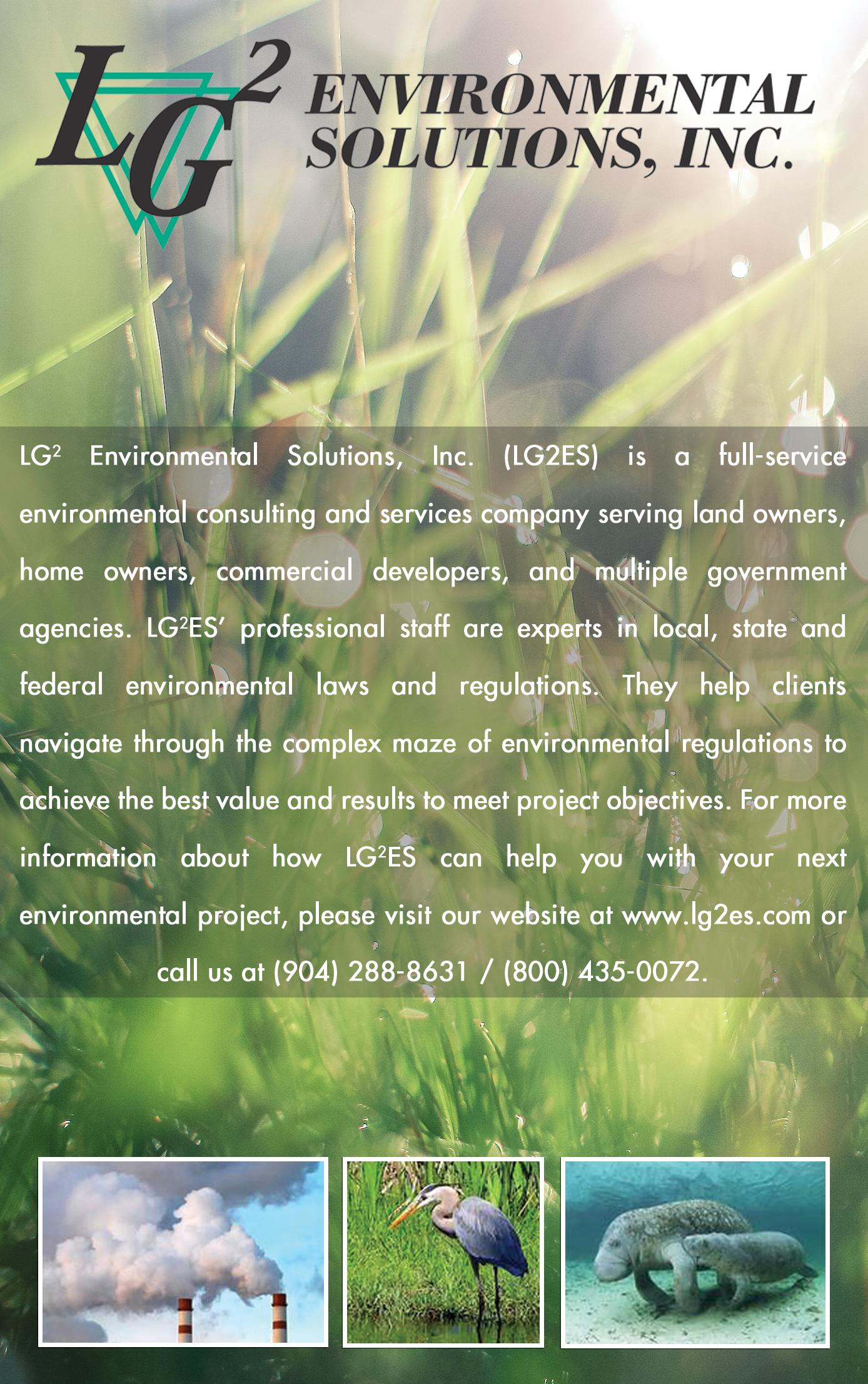 LG2 Environment Solutions, Inc,