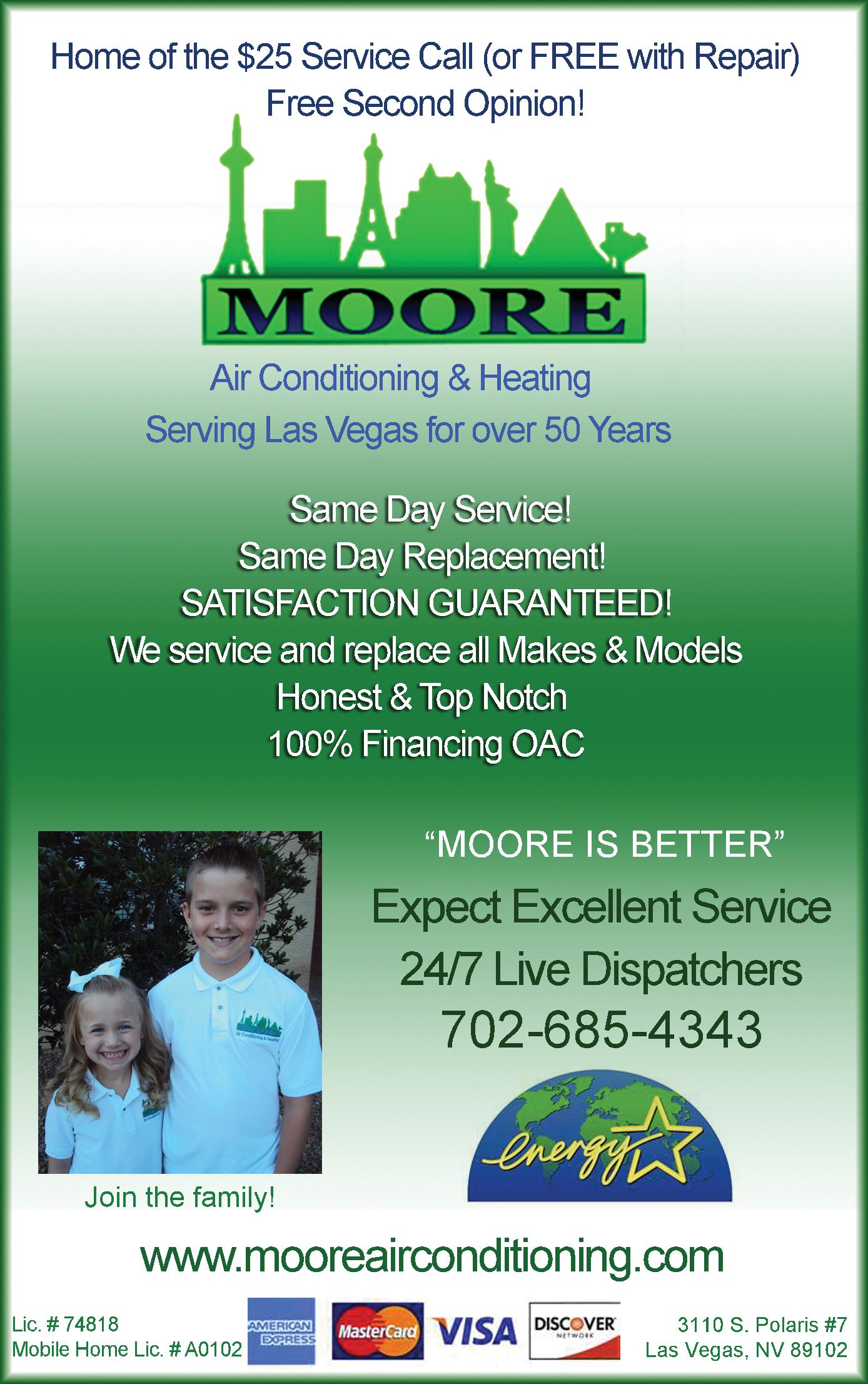 Moore Air Conditioning & Heating