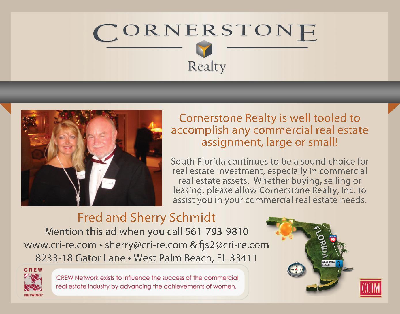 Cornerstone Realty Inc. - Schmidt