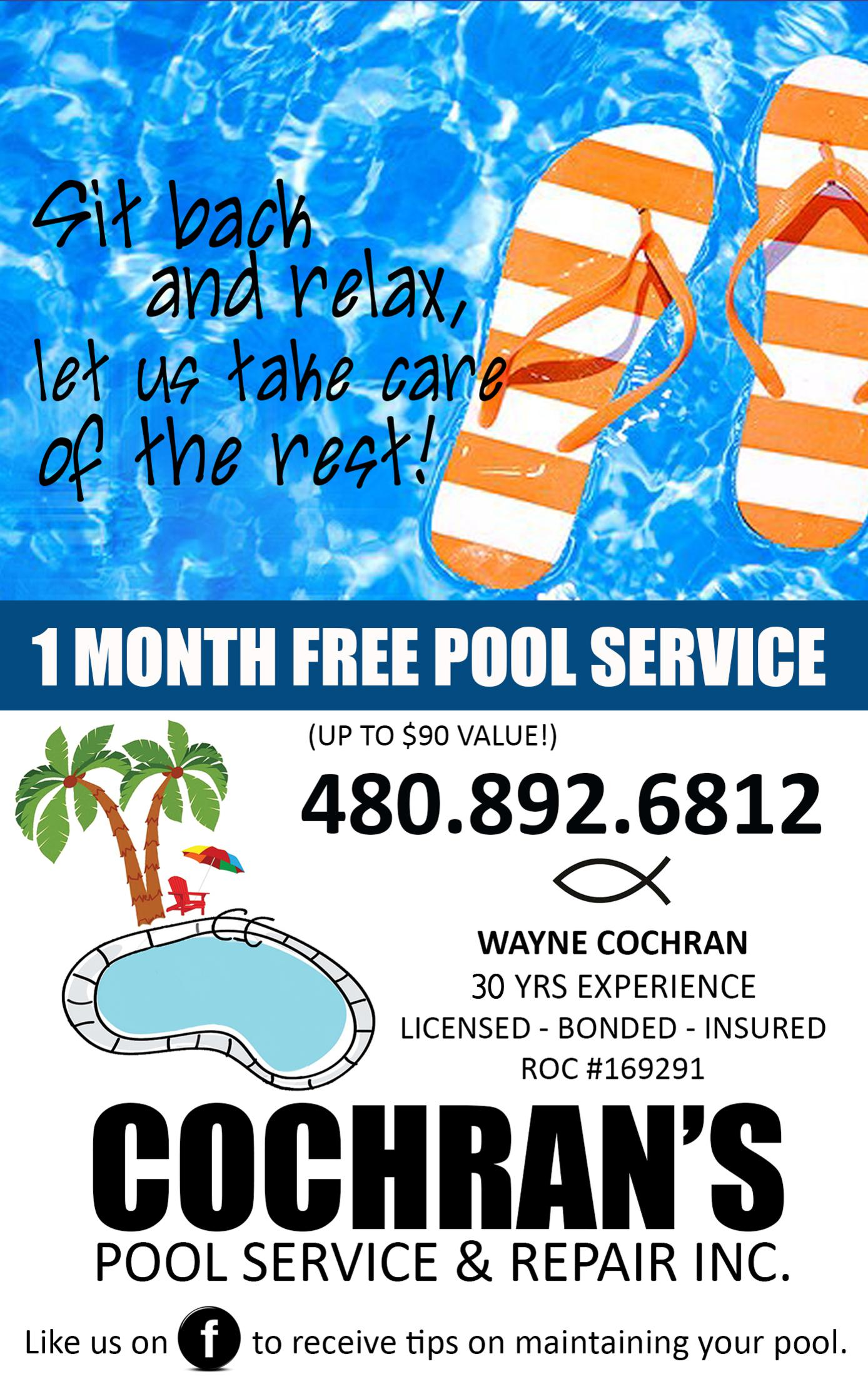 Cochran's Pool Service & Repair, Inc.