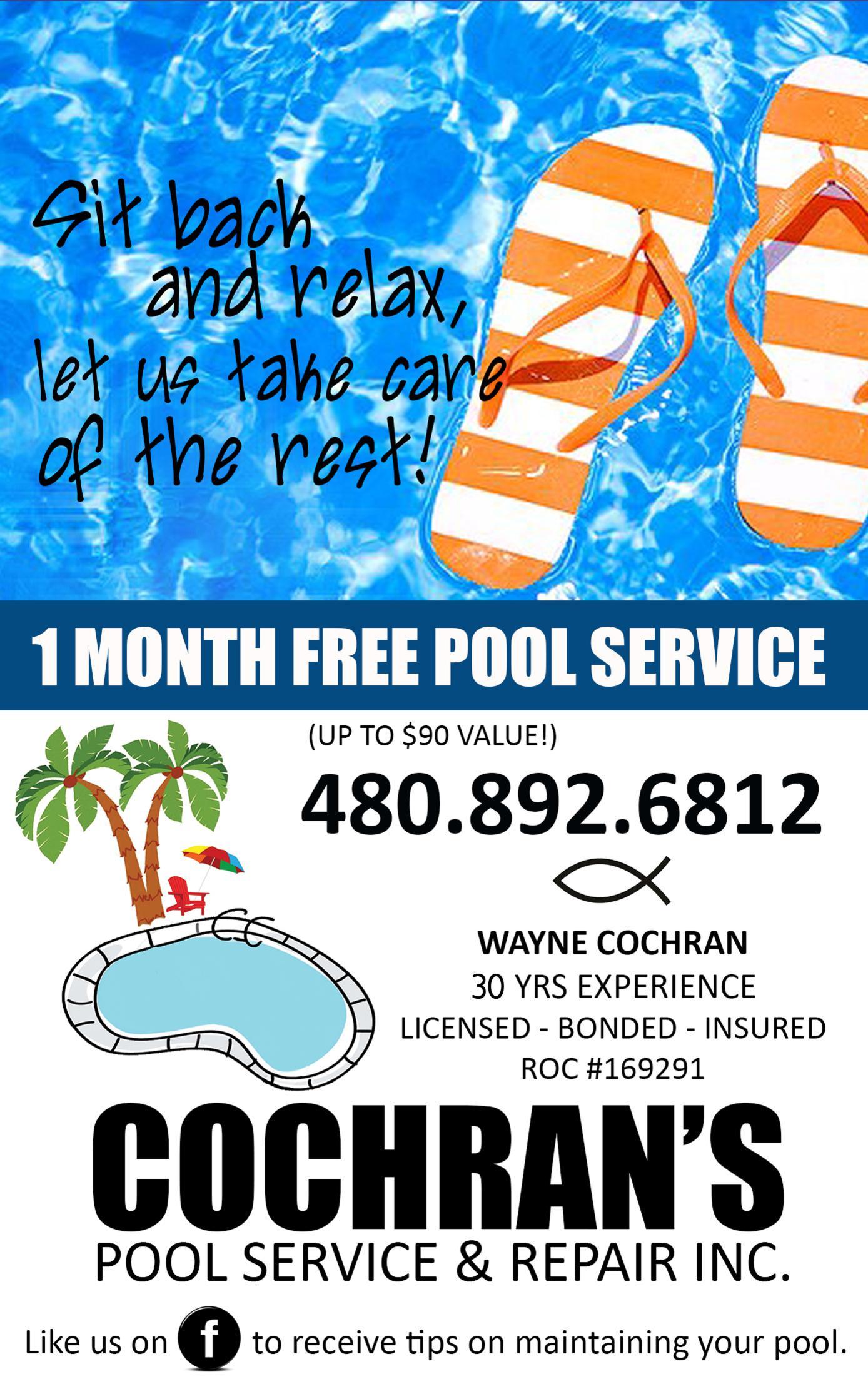 Cochran's Pool Service & Repair, Inc.