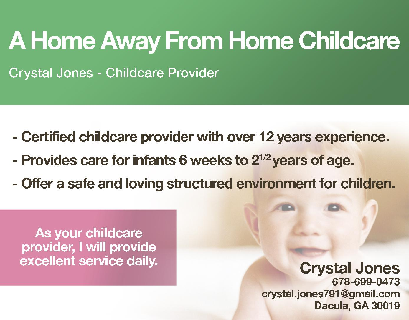 A Home Away From Home Childcare
