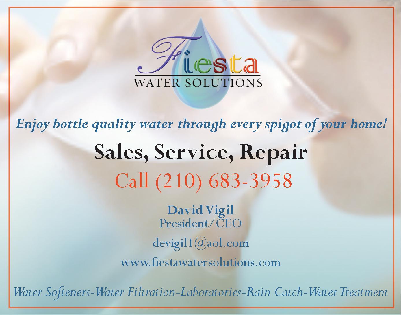 Fiesta Water Filtration