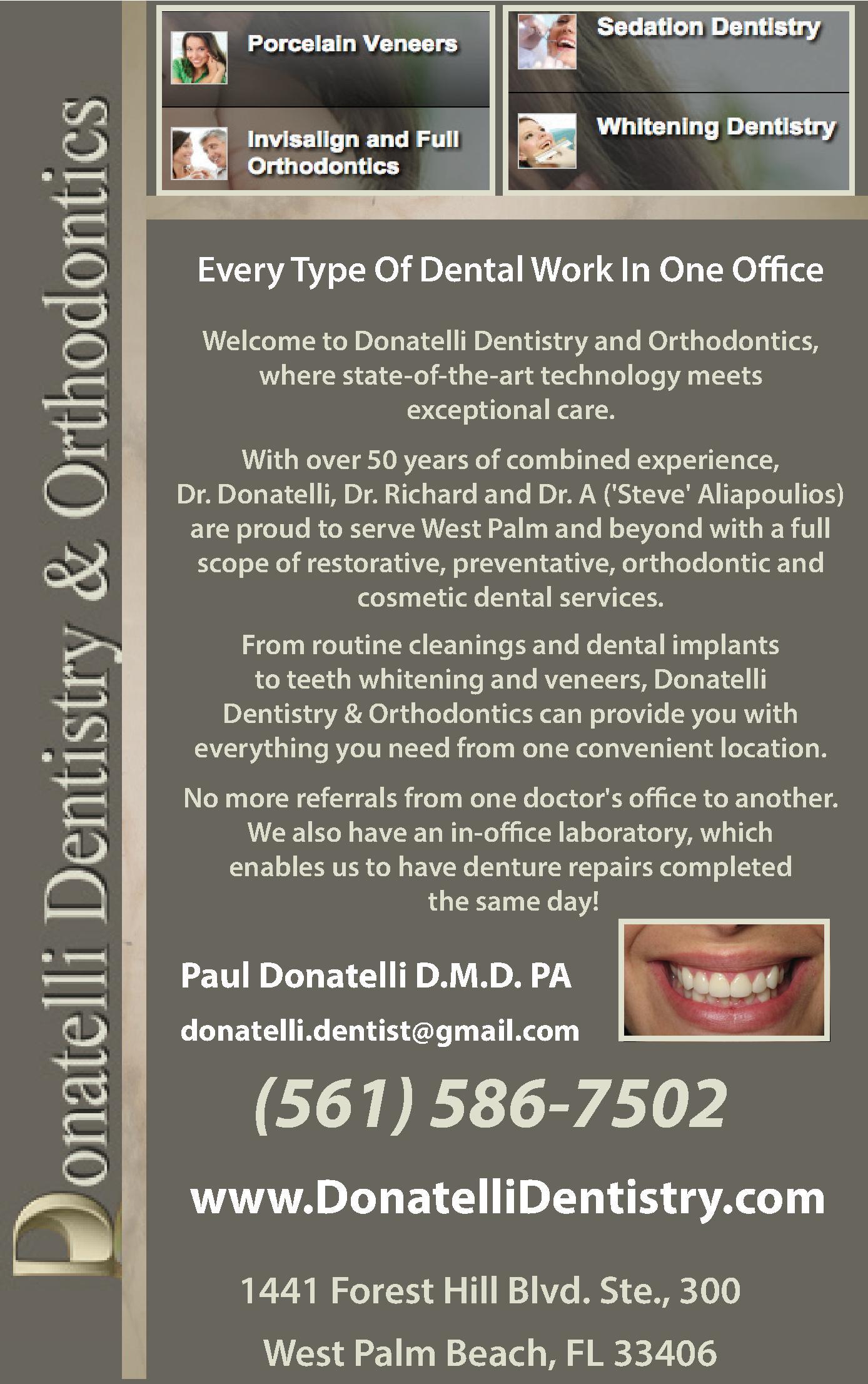 Donatelli Dentistry & Orthodontics