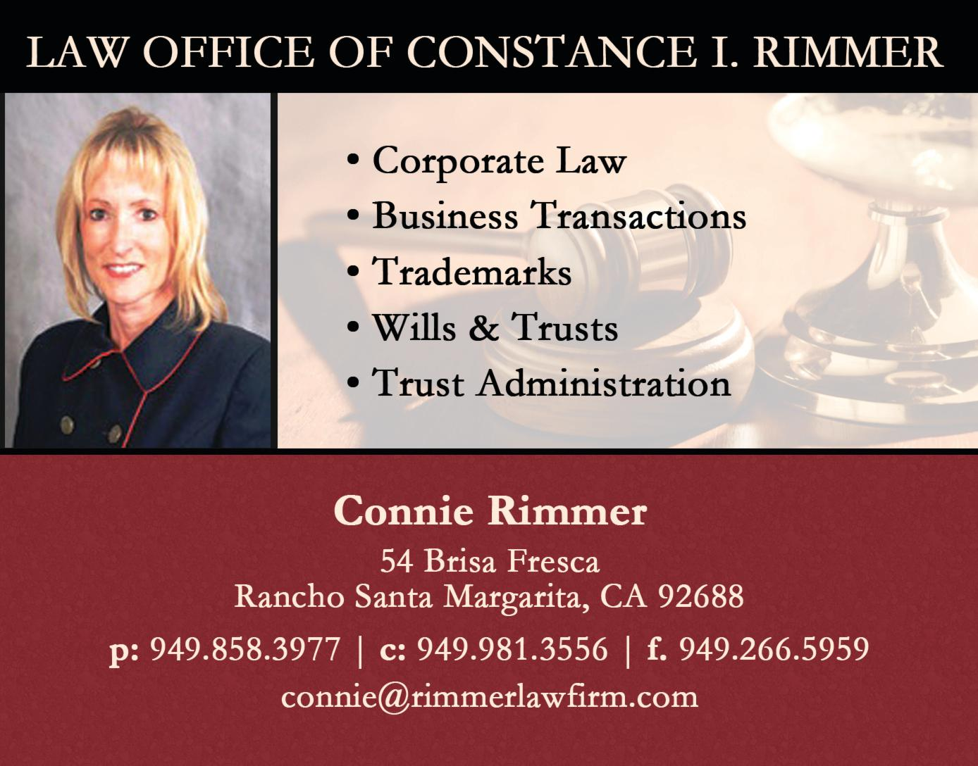 Law Office of Constance I. Rimmer, Esq