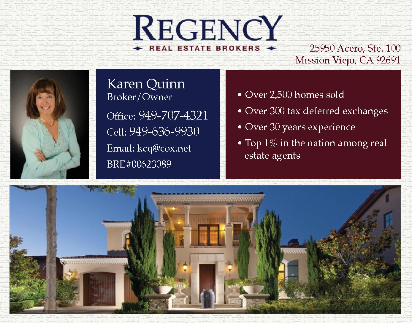 Regency Real Estate Brokers - Quinn