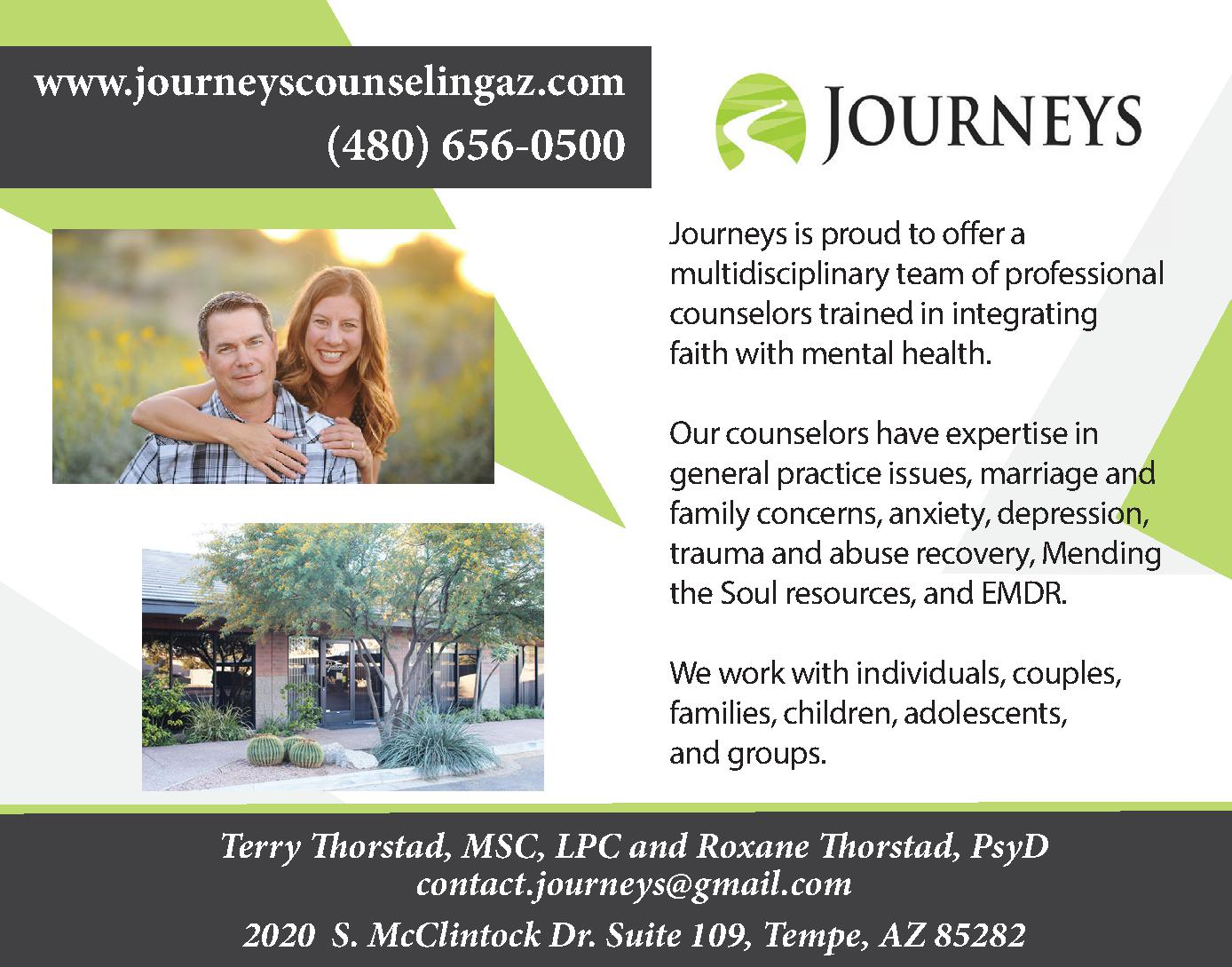 Journeys Counseling Center