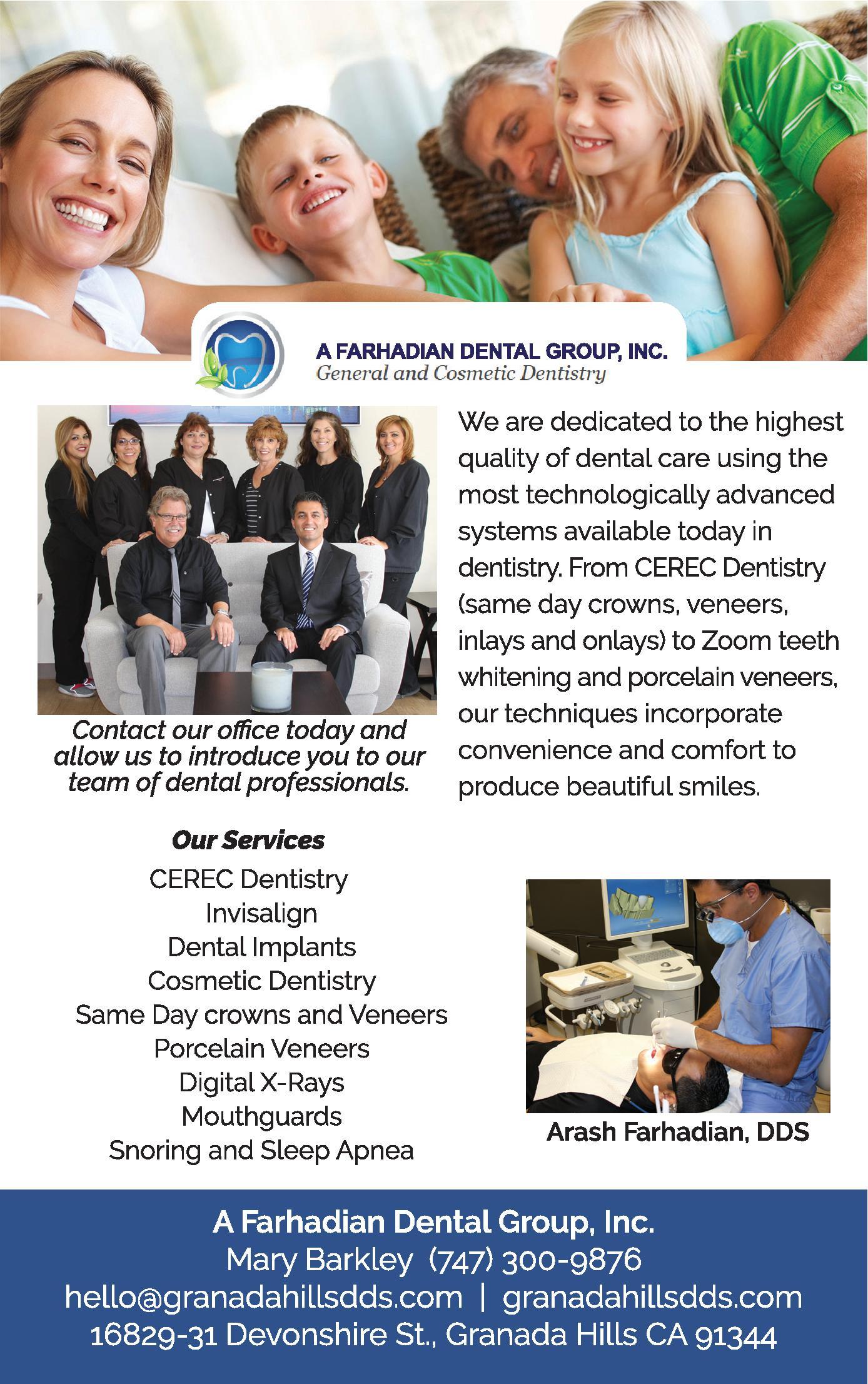 A Farhadian Dental Group, Inc.