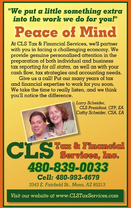 CLS Tax & Financial Services, Inc