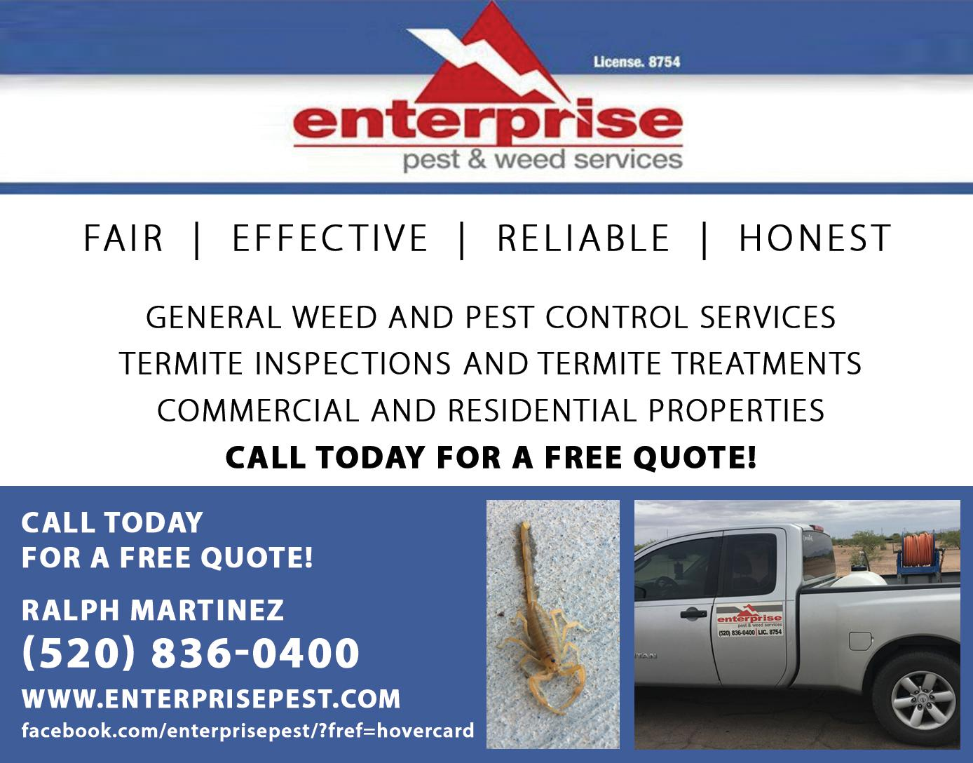 Enterprise Pest and Weed Services