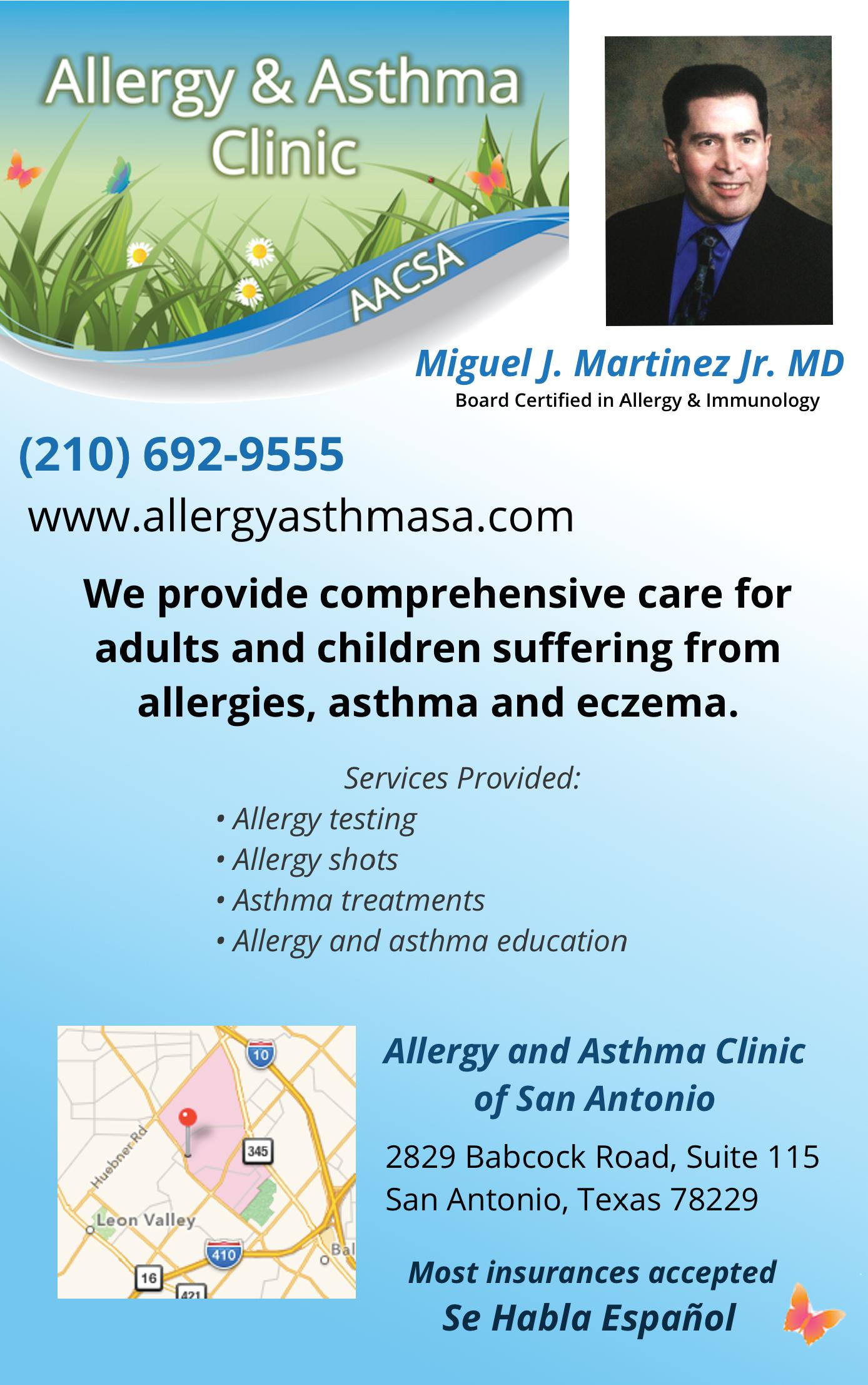Allergy and Asthma Clinic of San Antonio