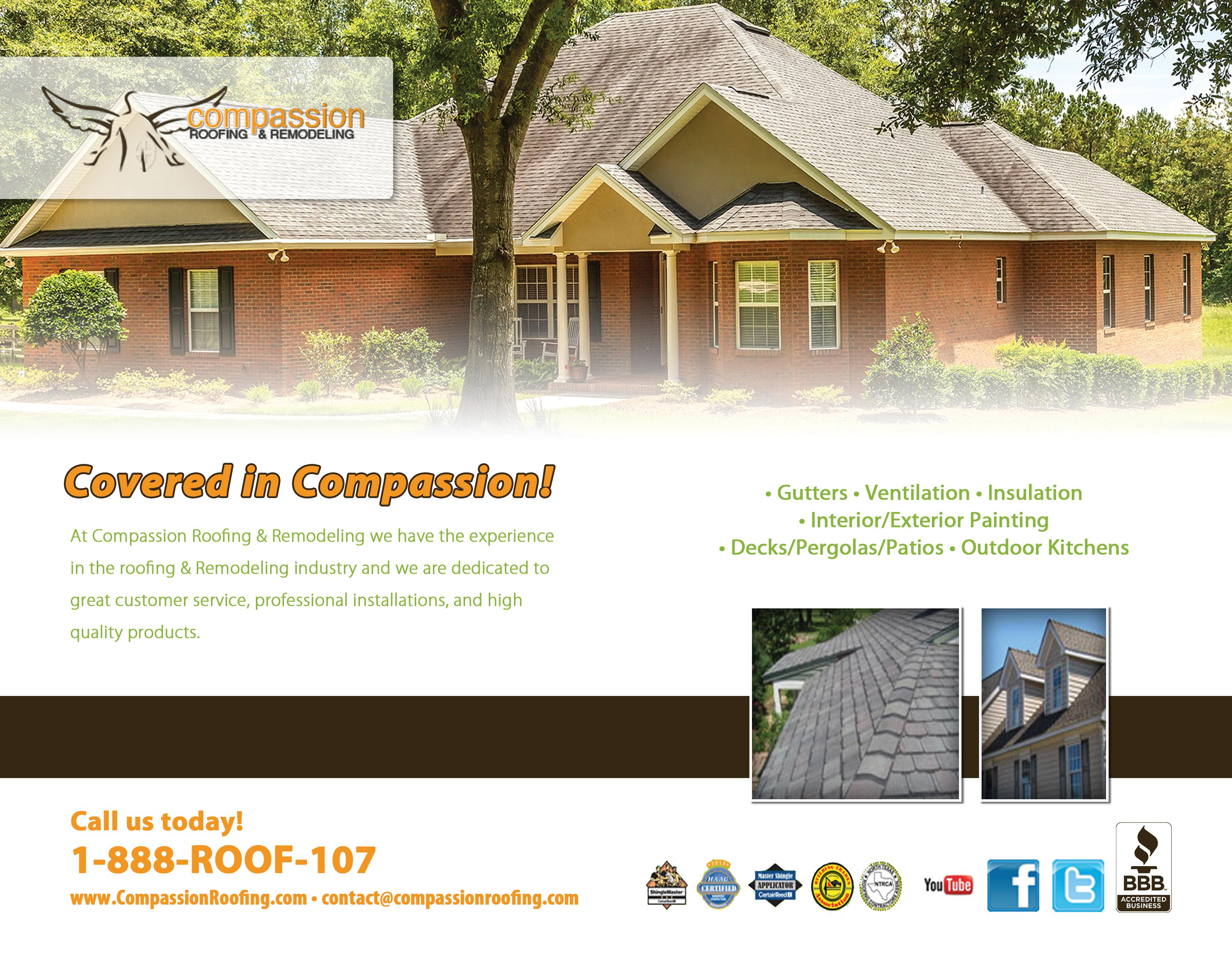 Compassion Roofing & Remodeling