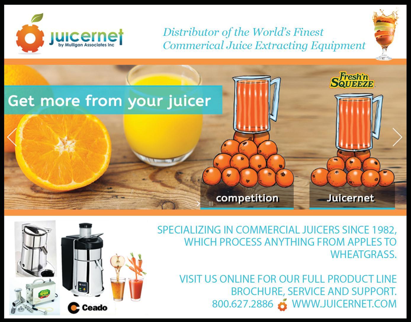 Juicernet by Mulligan Associates Inc