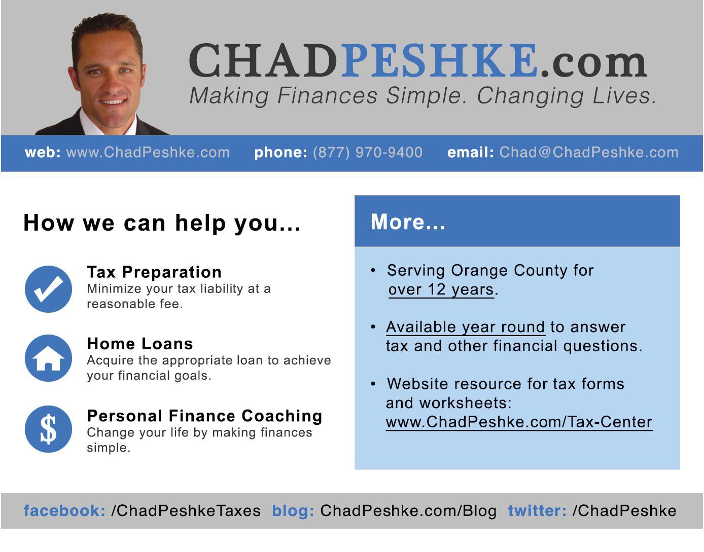 ChadPeshke.com
