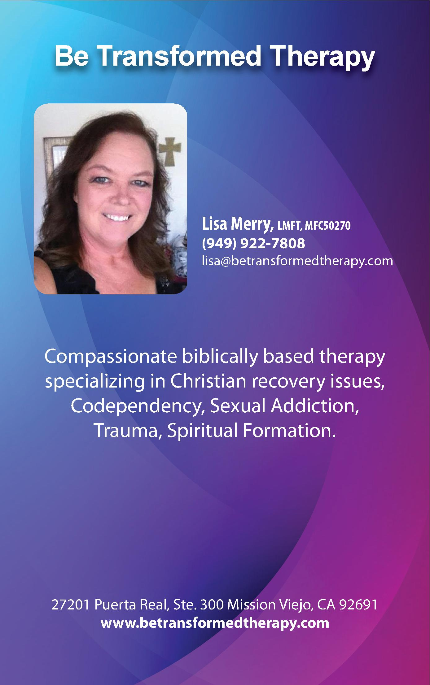 Be Transformed Therapy