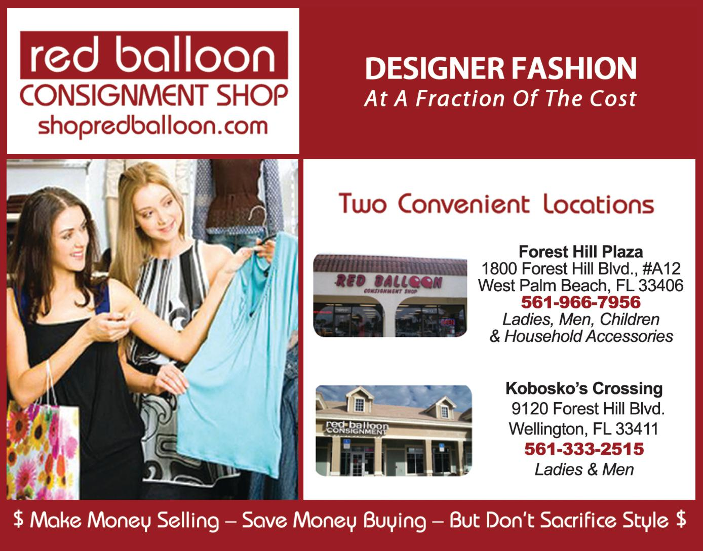 Red Balloon Consignment