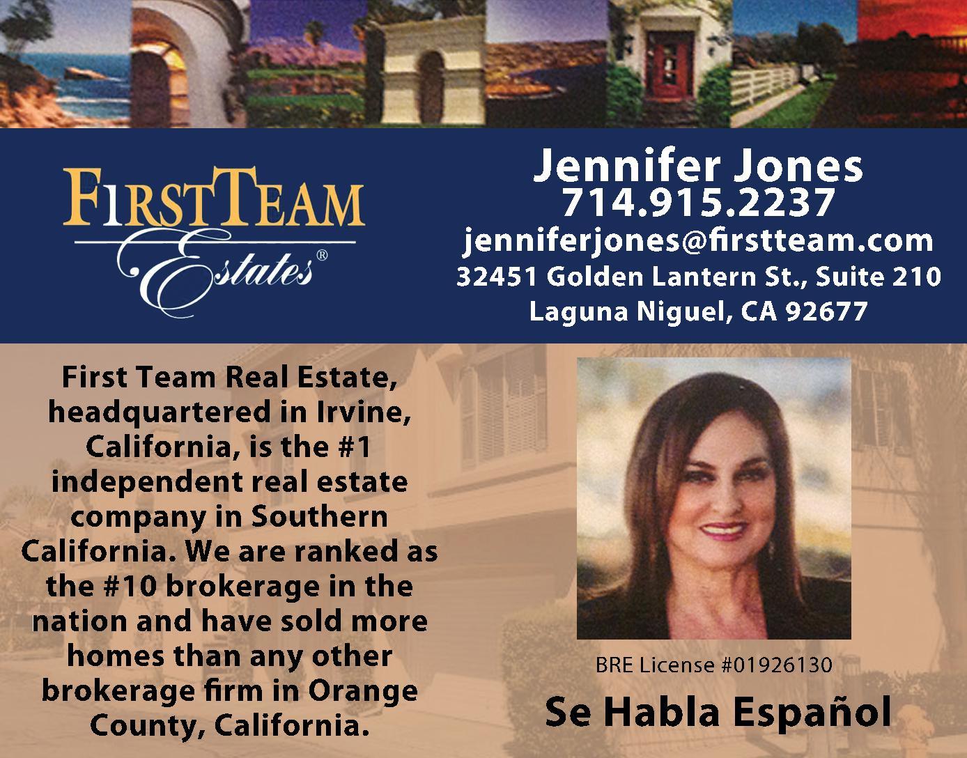 First Team Estates - Jones