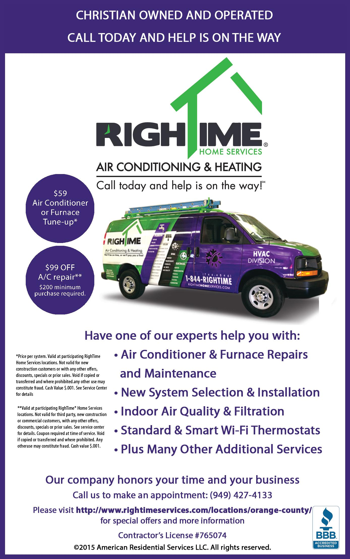 RighTime Air Conditioning and Heating