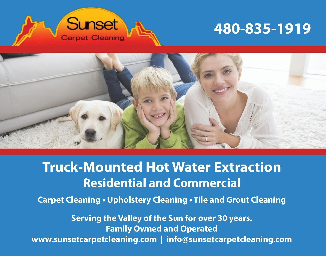 Sunset Carpet Cleaning