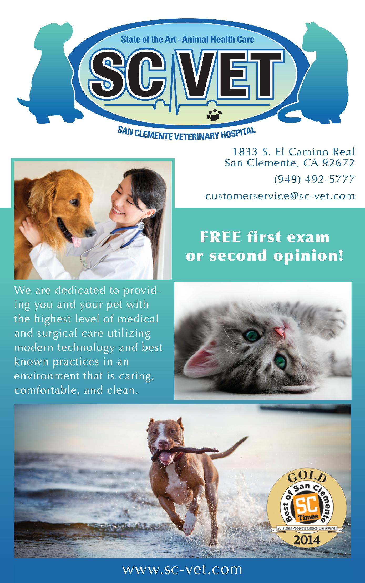 San Clemente Veterinary Hospital