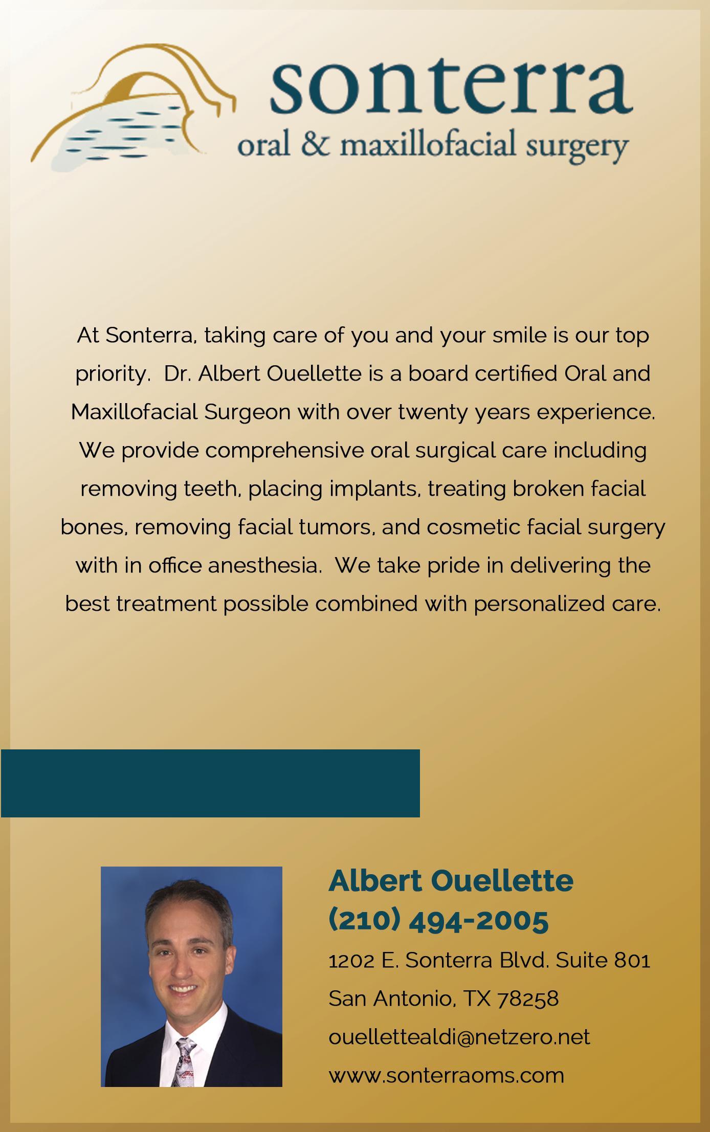 Sonterra Oral & Maxillofacial Surgery