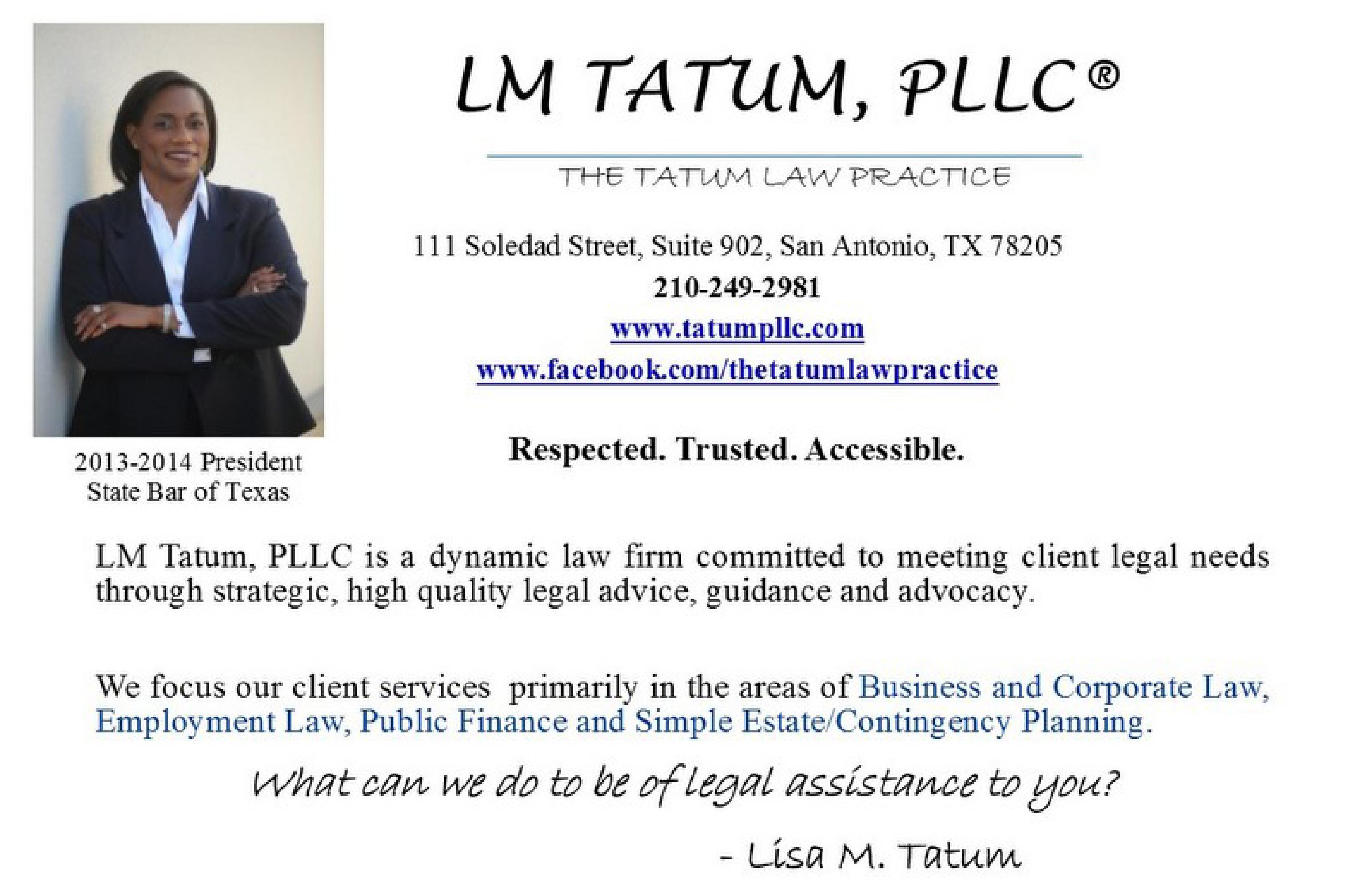 LM Tatum, PLLC