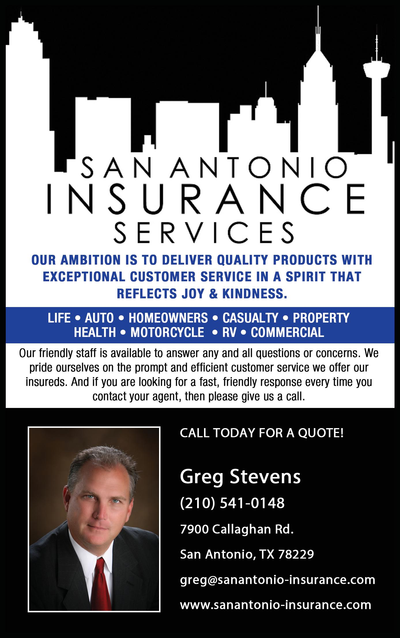 San Antonio Insurance Services, LLC