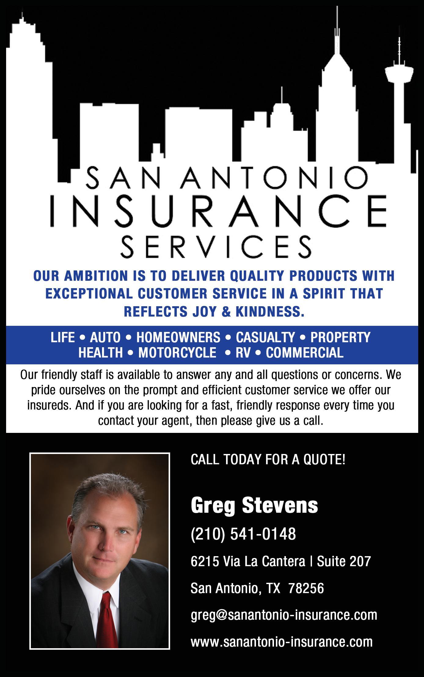San Antonio Insurance Services, LLC