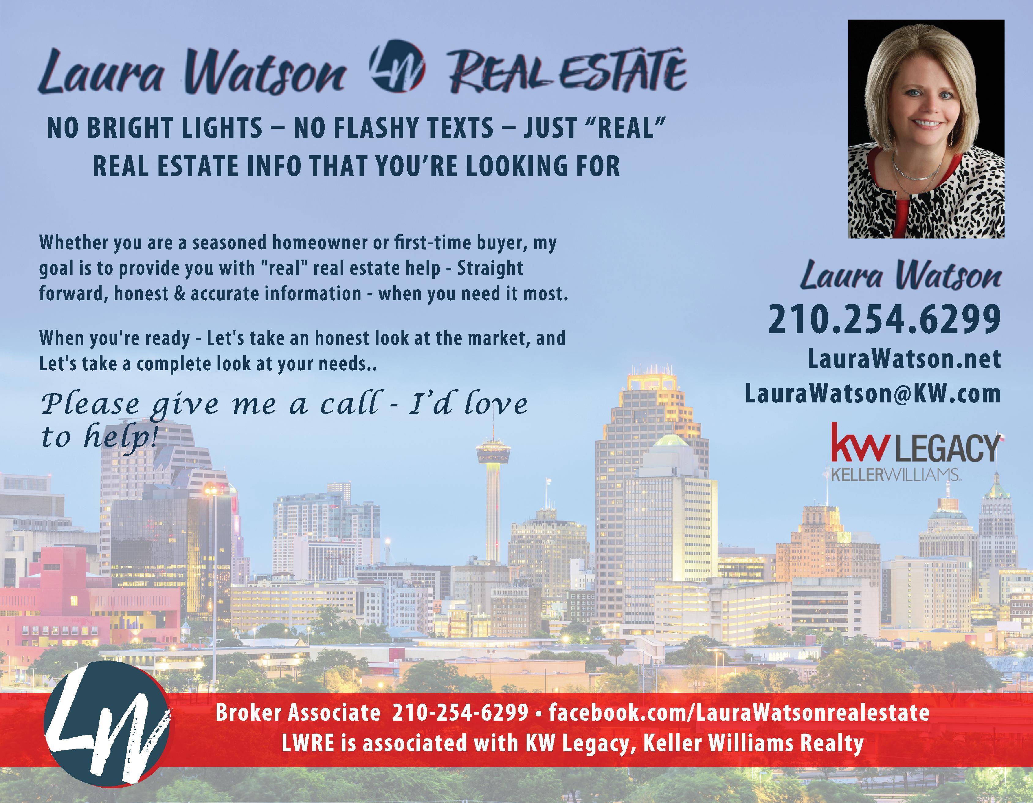 Laura Watson Real Estate - Keller Williams Legacy