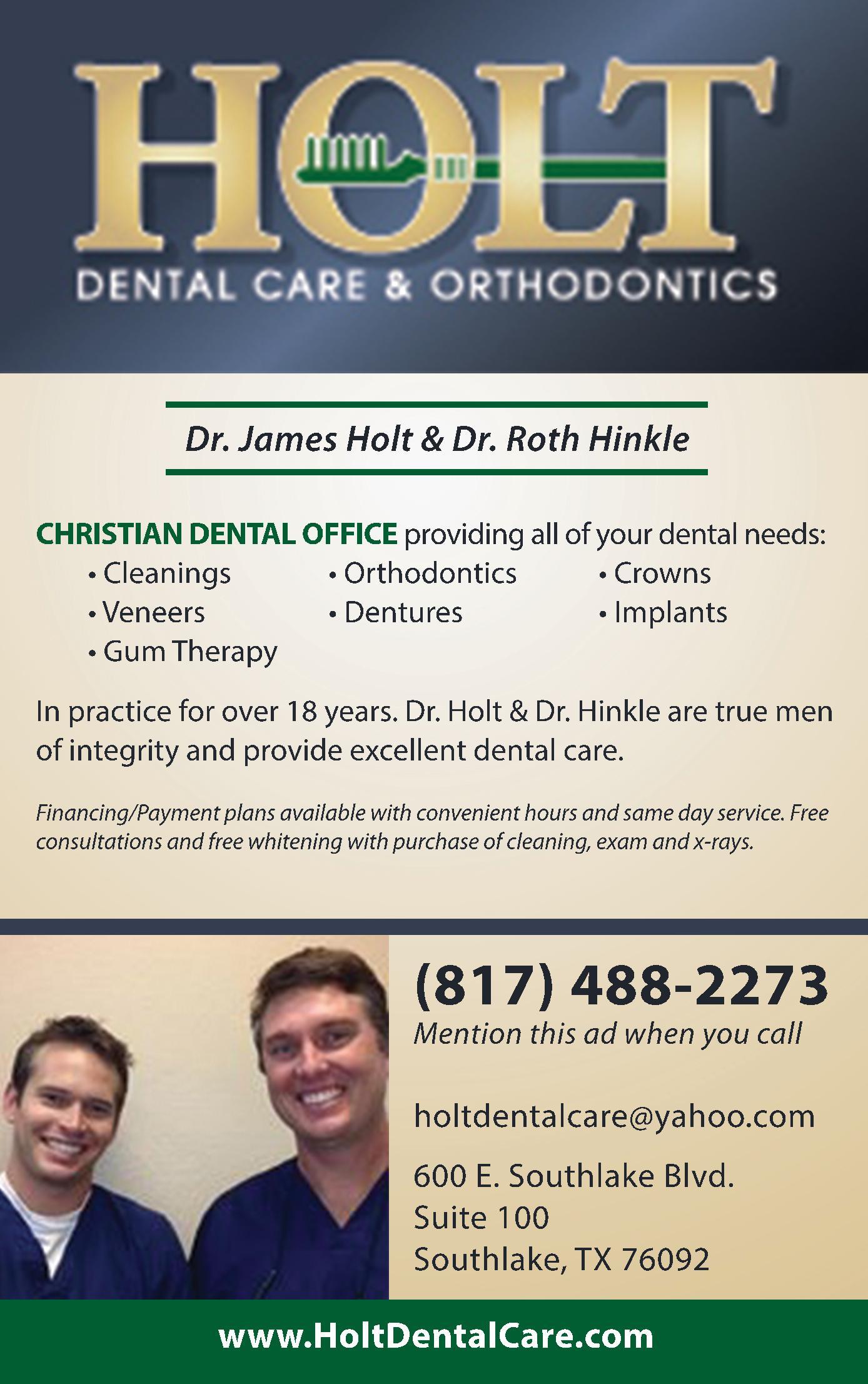 Holt Dental Care