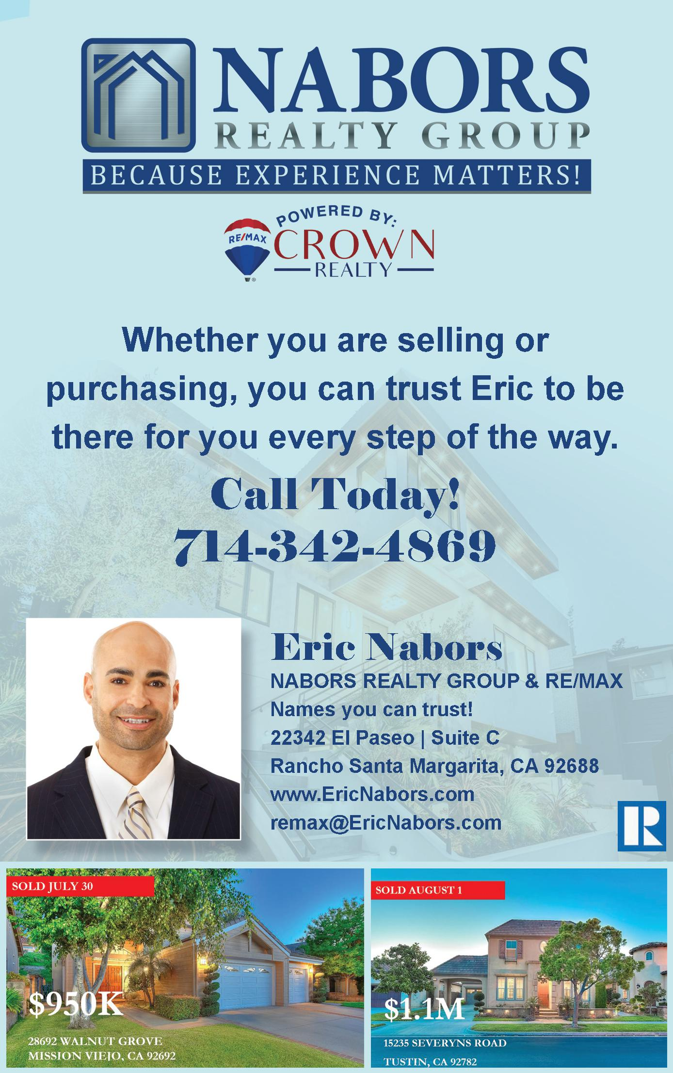 NABORS REALTY GROUP @  RE/MAX Crown Realty