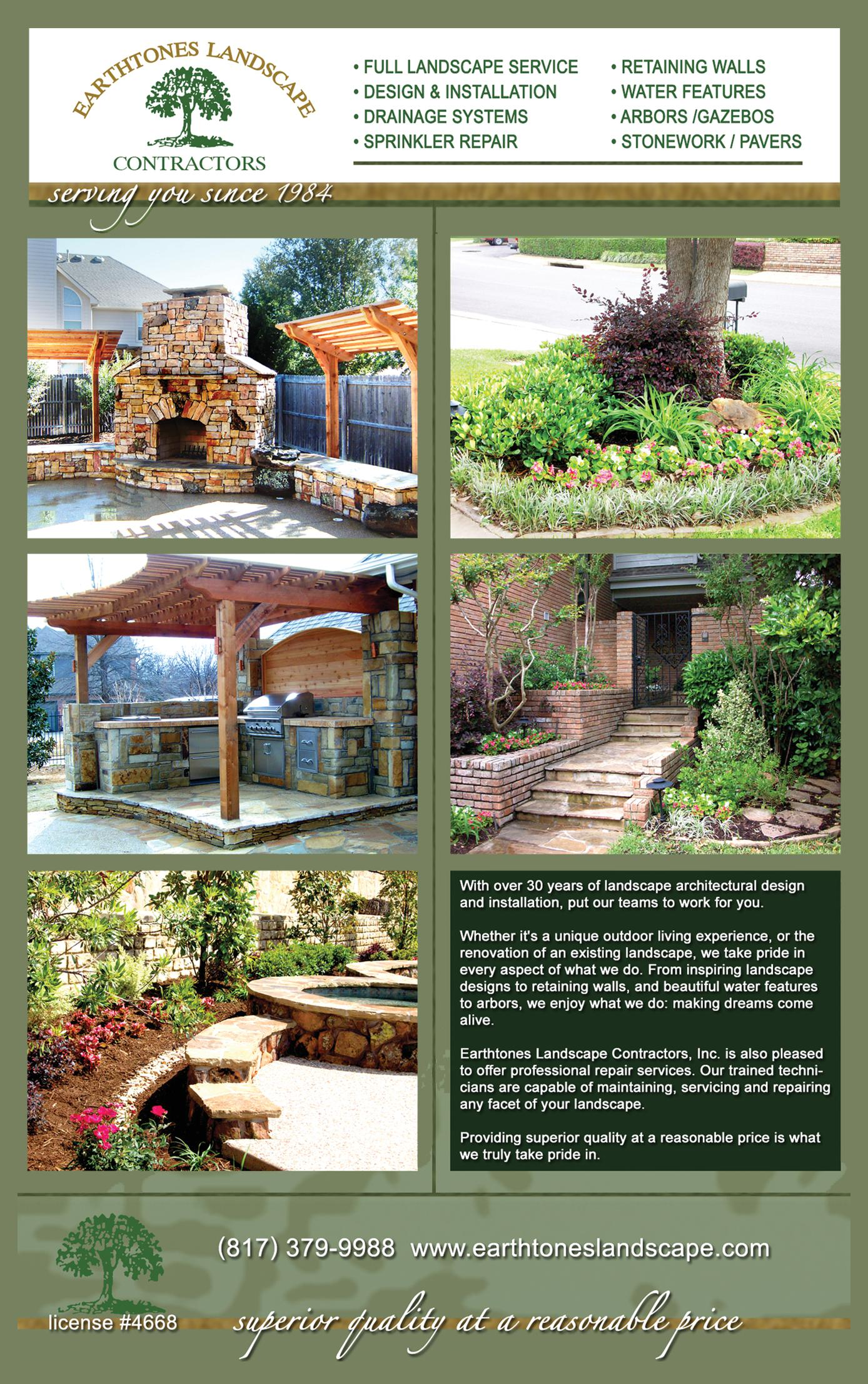 Earthtones Landscape Contractors, Inc.