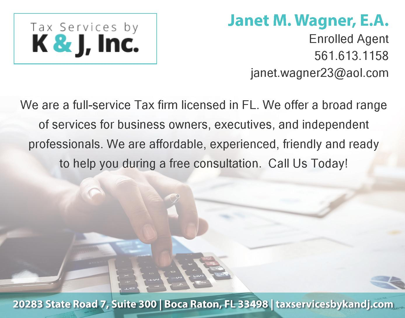 Tax Services by K & J, Inc
