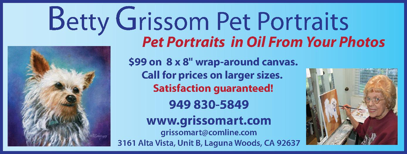 Betty Grissom Pet Portraits