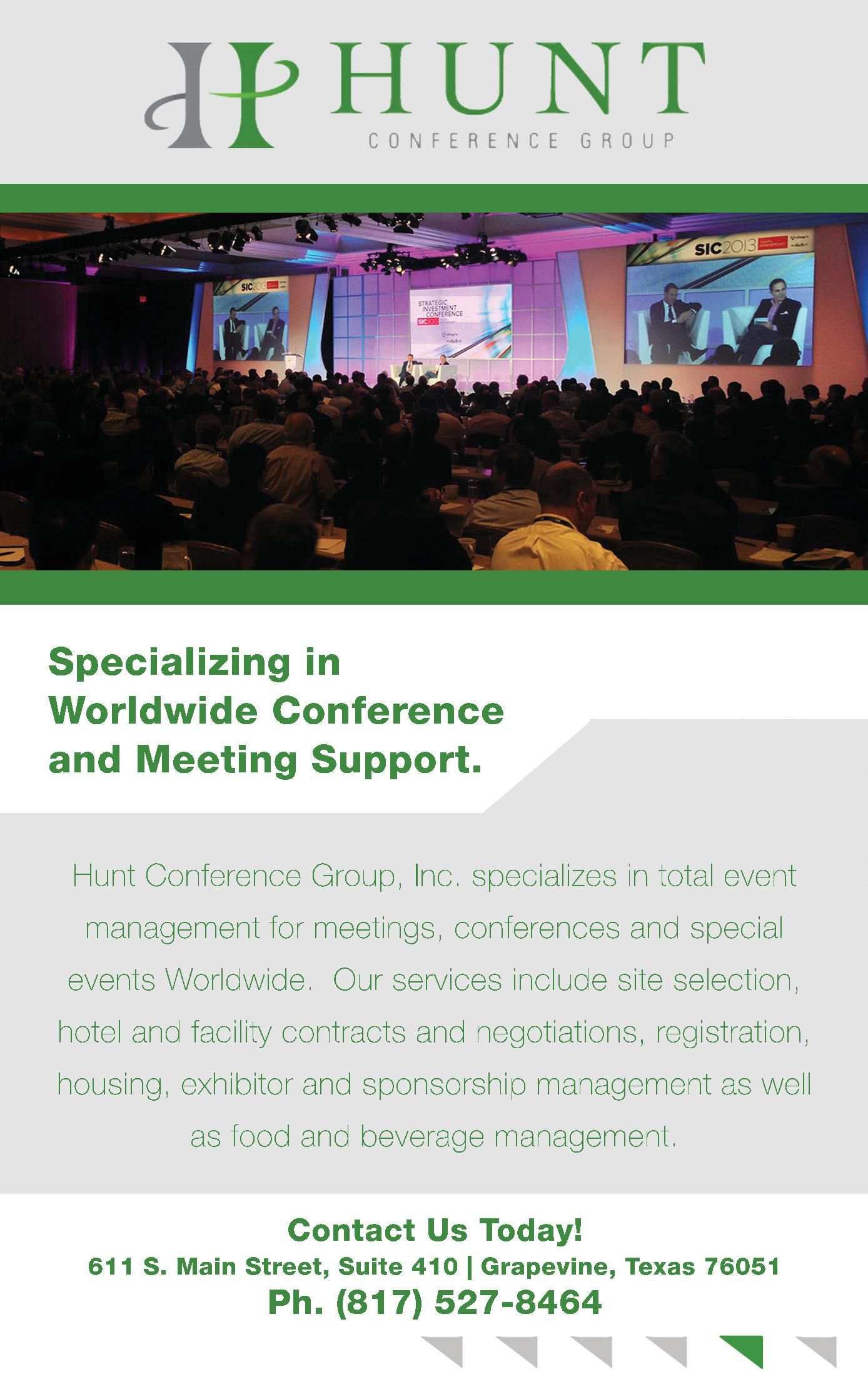 Hunt Conference Group, Inc.