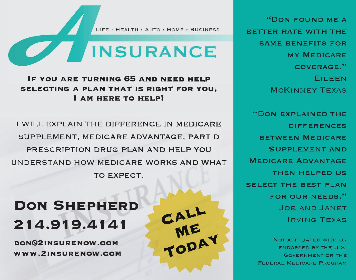 A Insurance - Medicare