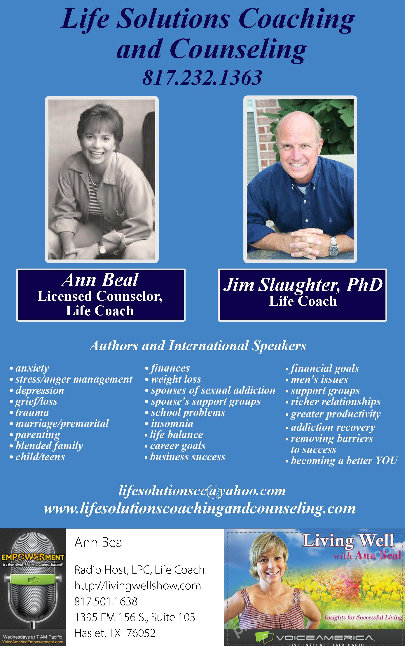 Life Solutions Coaching and Counseling