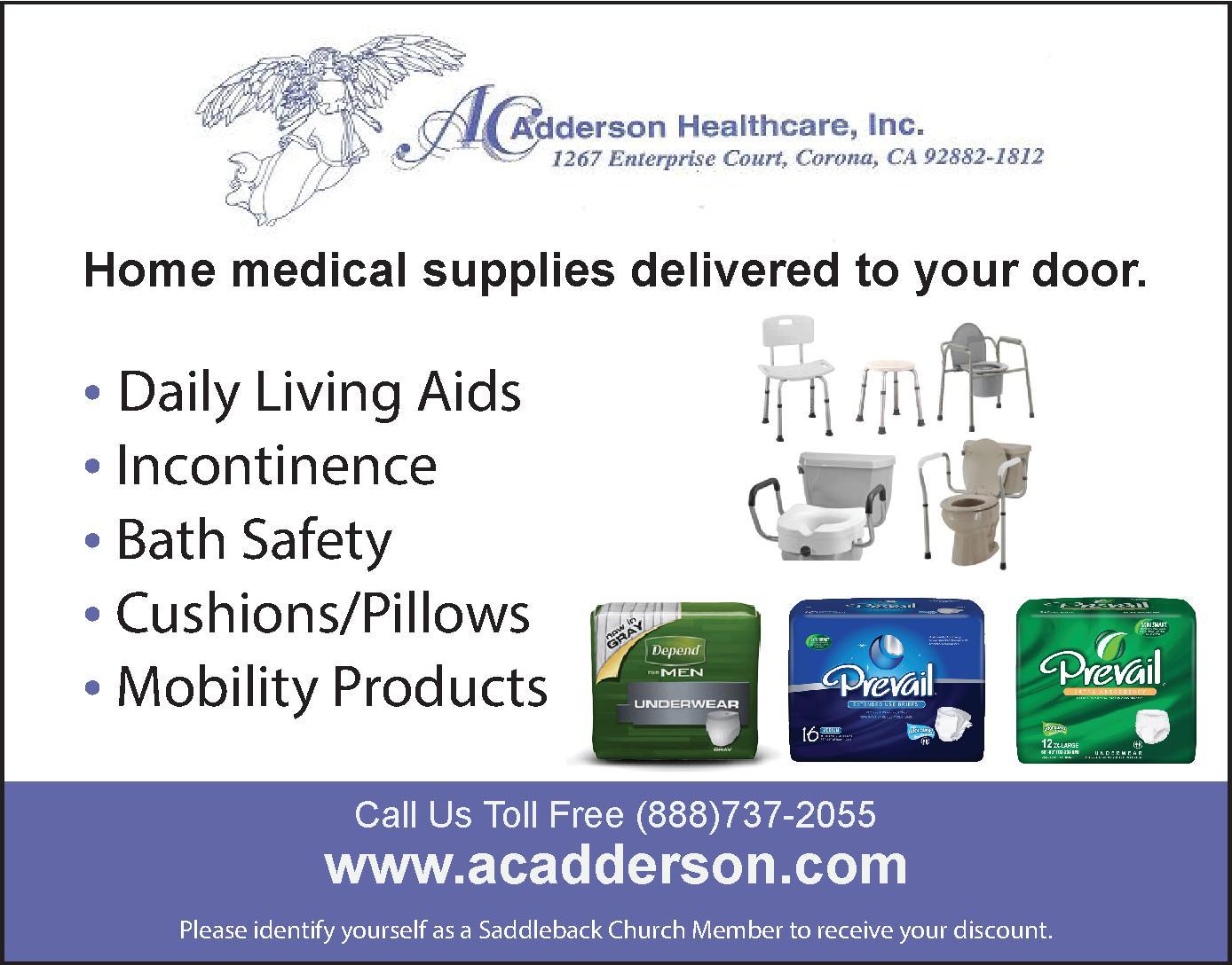 A.C. Adderson Healthcare, Inc.