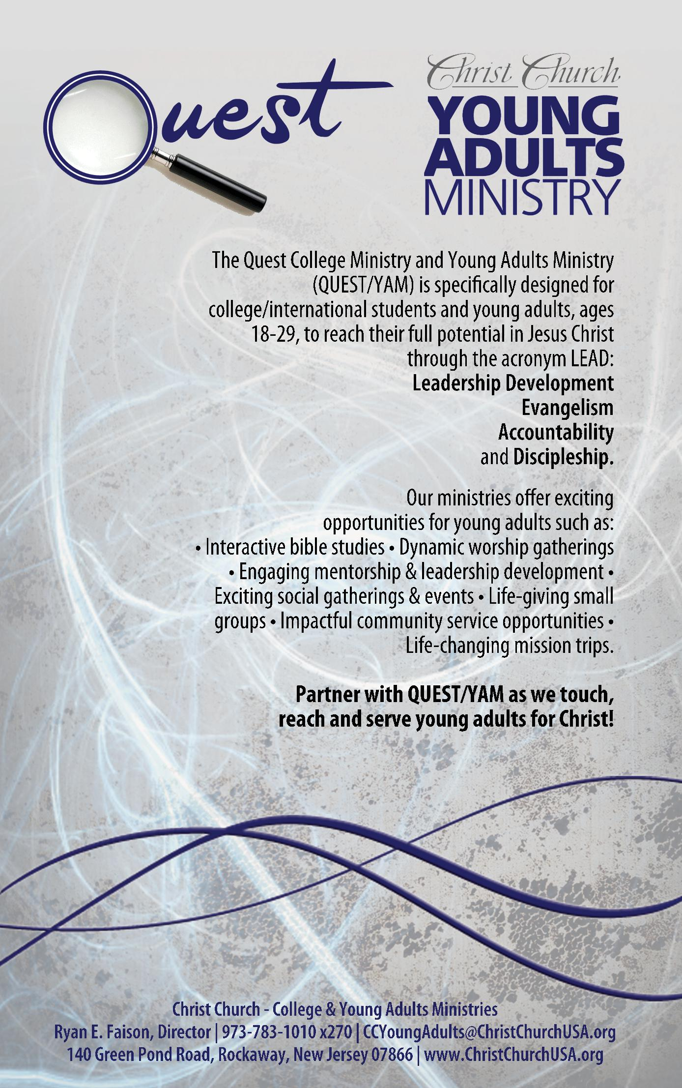 College & Young Adults Ministry