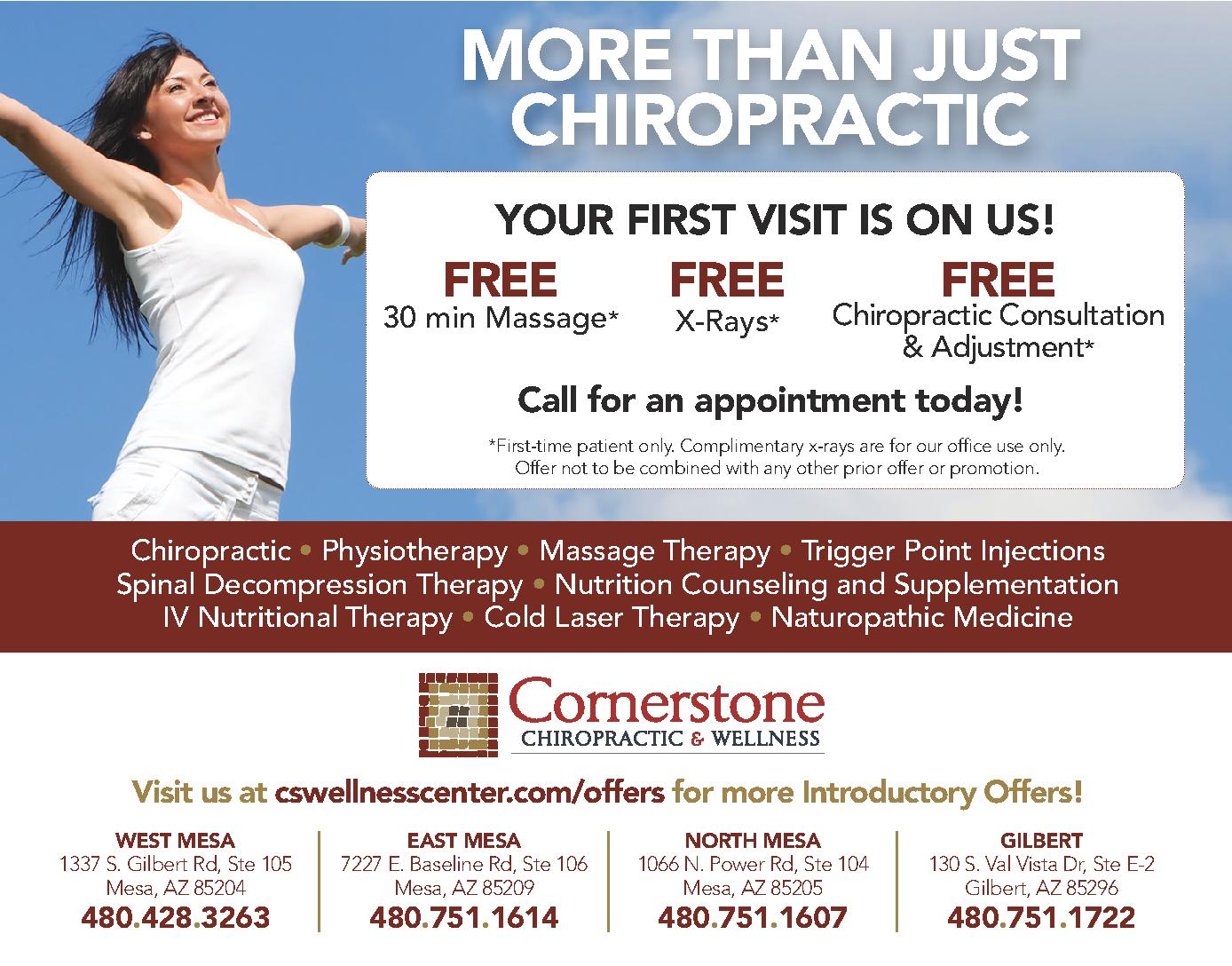 Cornerstone Chiropractic & Wellness Center