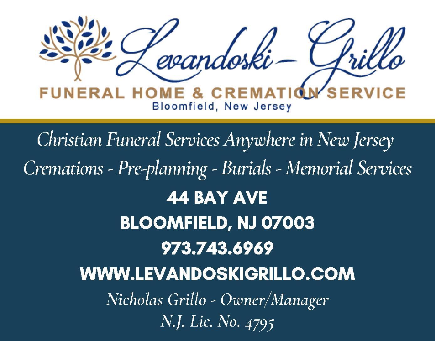 Levandoski - Grillo Funeral Home