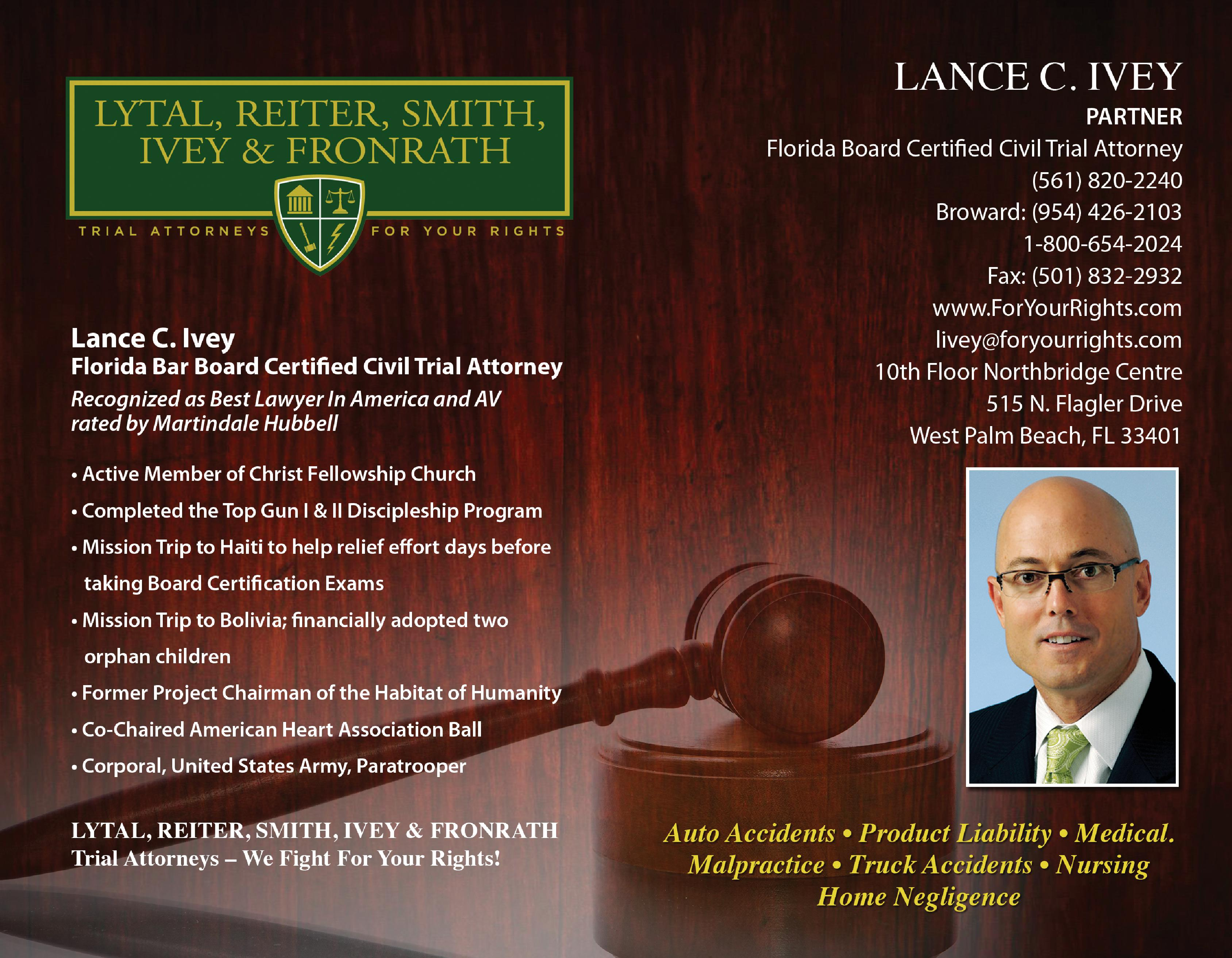 Lance Ivey Attorney