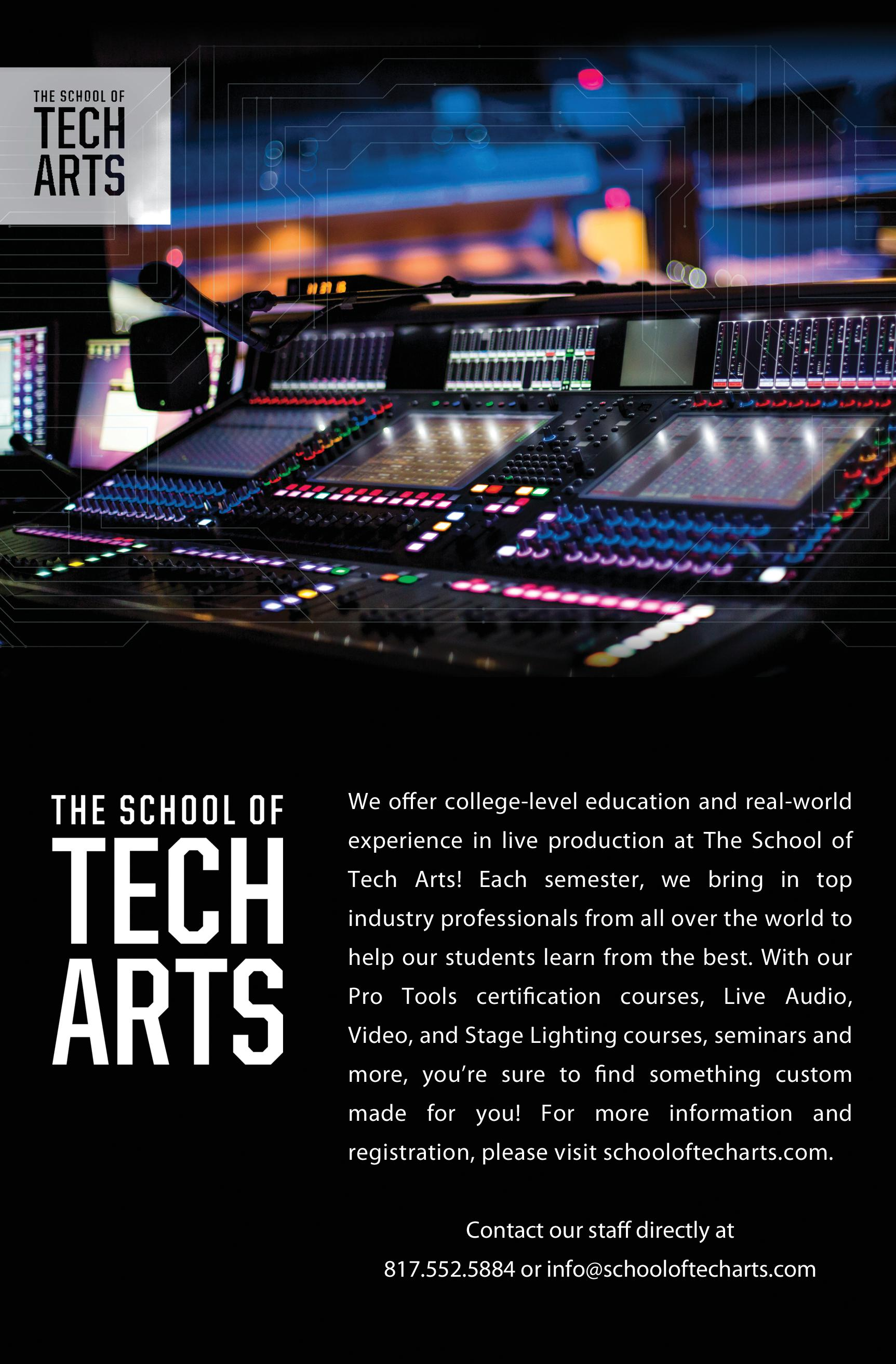 The School of Tech Arts