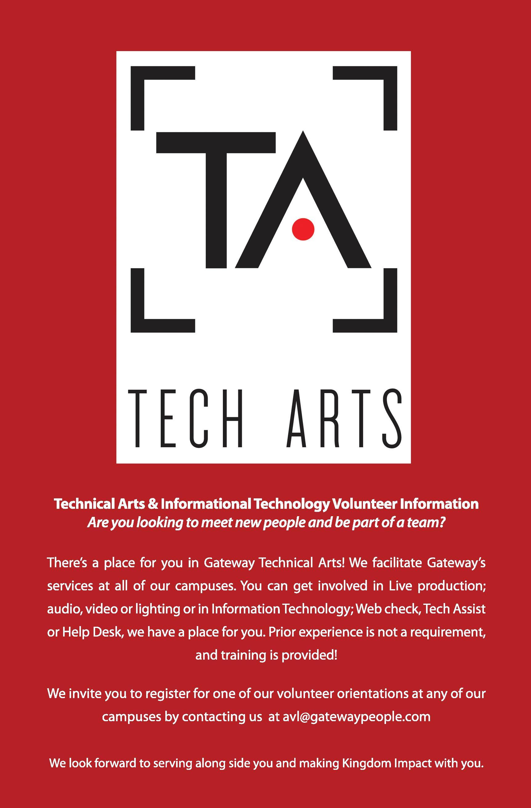 Tech Arts Ministry