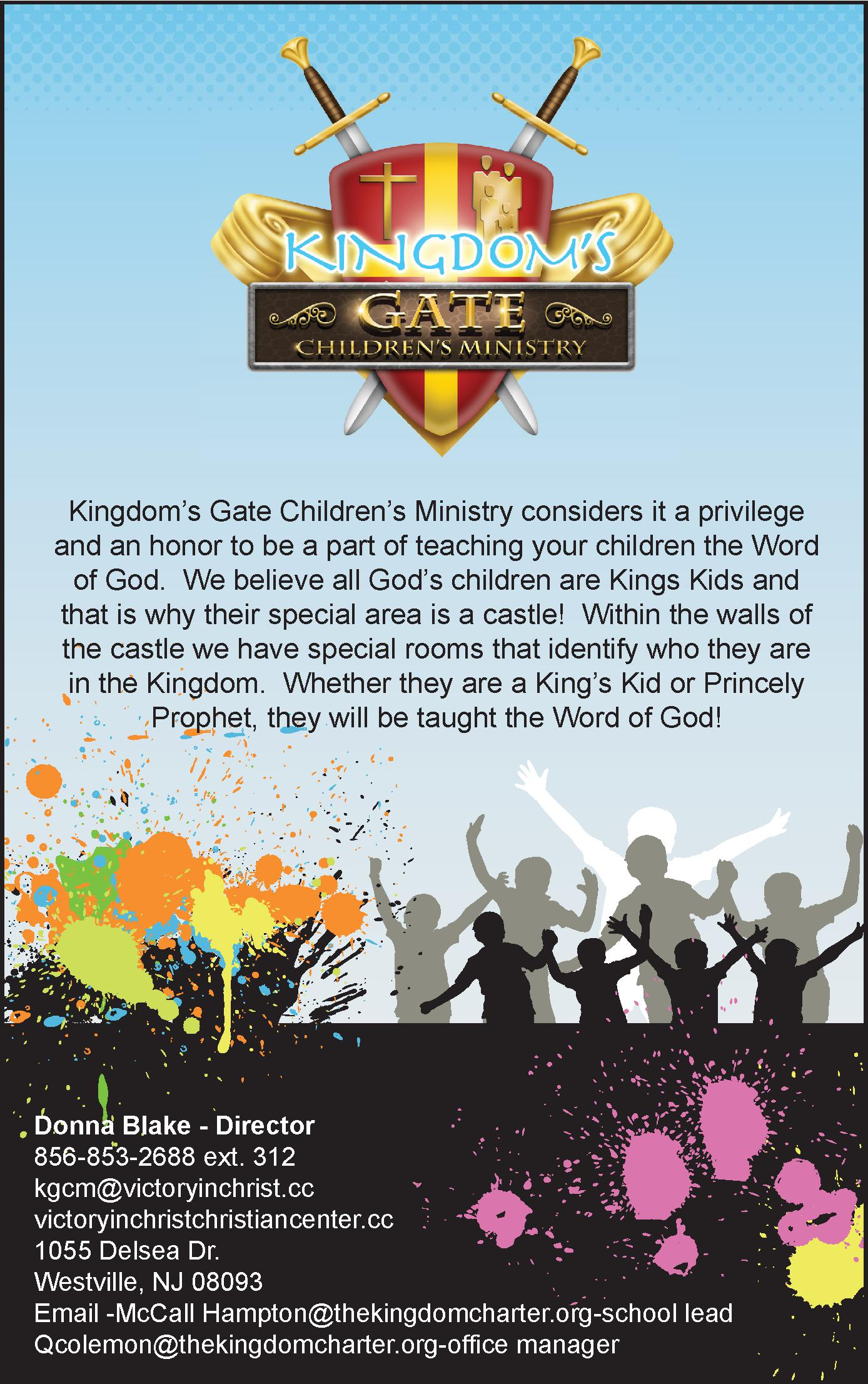 Kingdom's Gate Children Ministry
